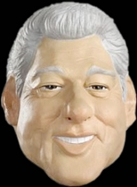 Bill Clinton Full Head