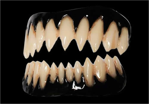 Black Pennywise Fake FX Teeth