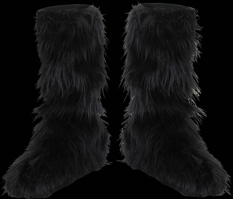Childs Furry Boot Covers