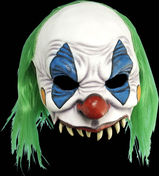 Scary Clown Halfmask