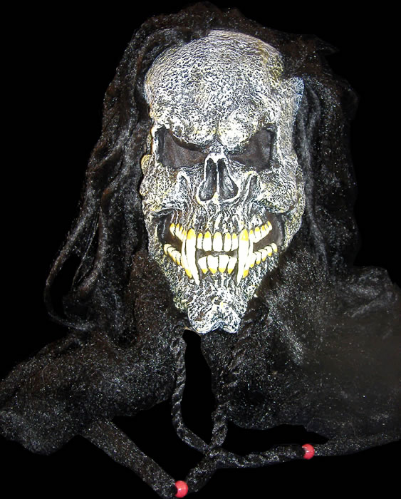Dreadlock Skull