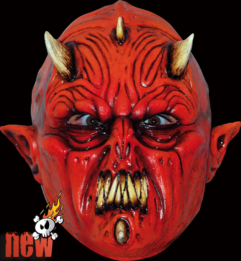 Red Demon Face