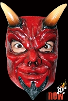 Horny Devil Face