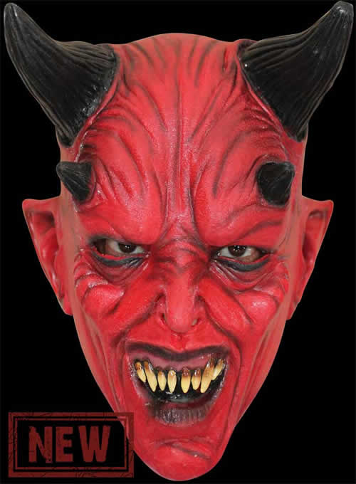 Childs Devil Face