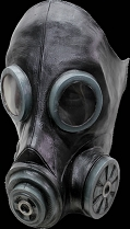 Gas Mask Black