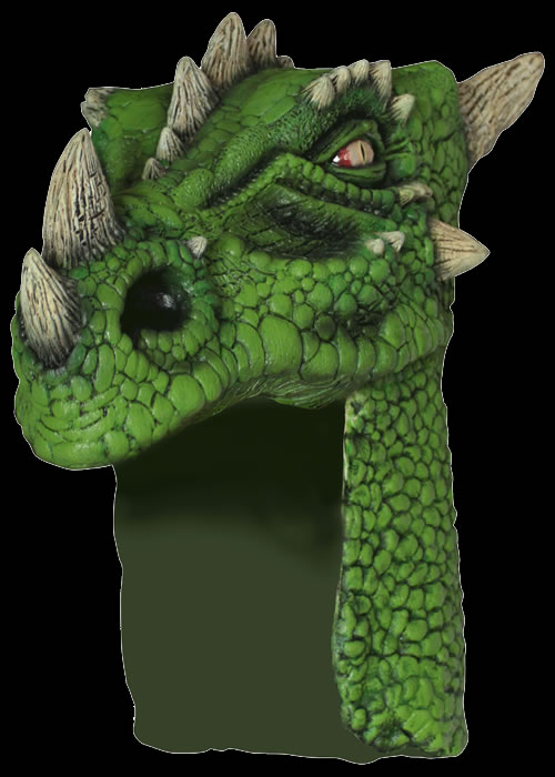 Green Dragon Helmet