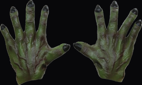 Monster Hands Green