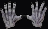 Monster Hands Gray
