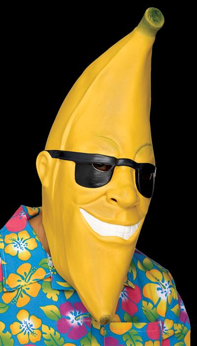 Banana Man Halloween Mask