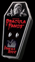 Chrome Plated Dracula Fangs