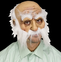 Wisker Walter Old Man Mask
