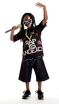 Child Rapstar Zombie Costume