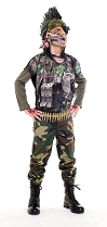 Childs Sargent Slaughter Costume