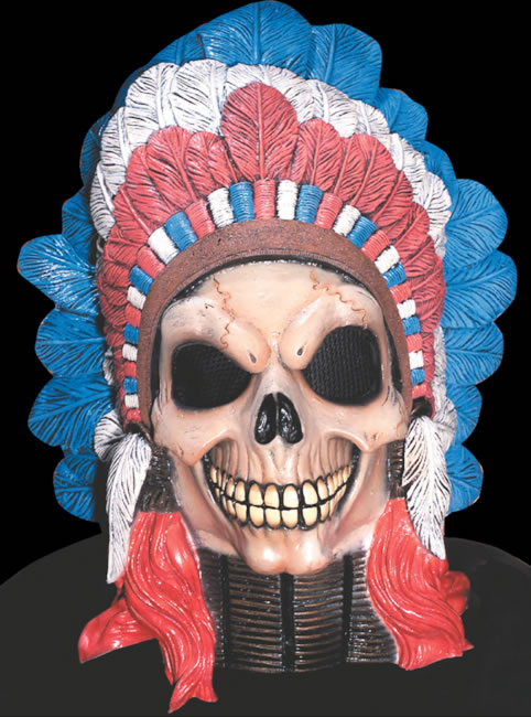 Indian Chief Skull