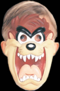 Childs Tazmanian Devil PVC