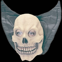 Childs Skull with Collar