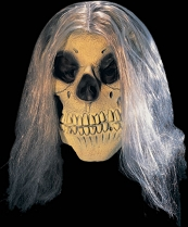Skull With Wig