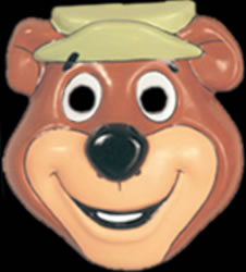 Childs Yogi Bear PVC