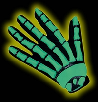 GITD Skeleton Hands