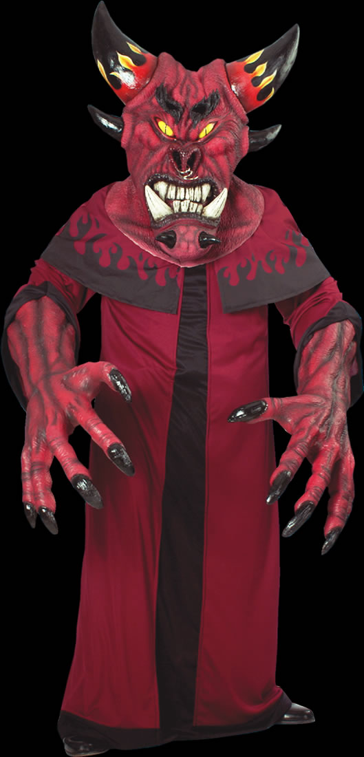 Dark Diablo Creature Reacher Costume