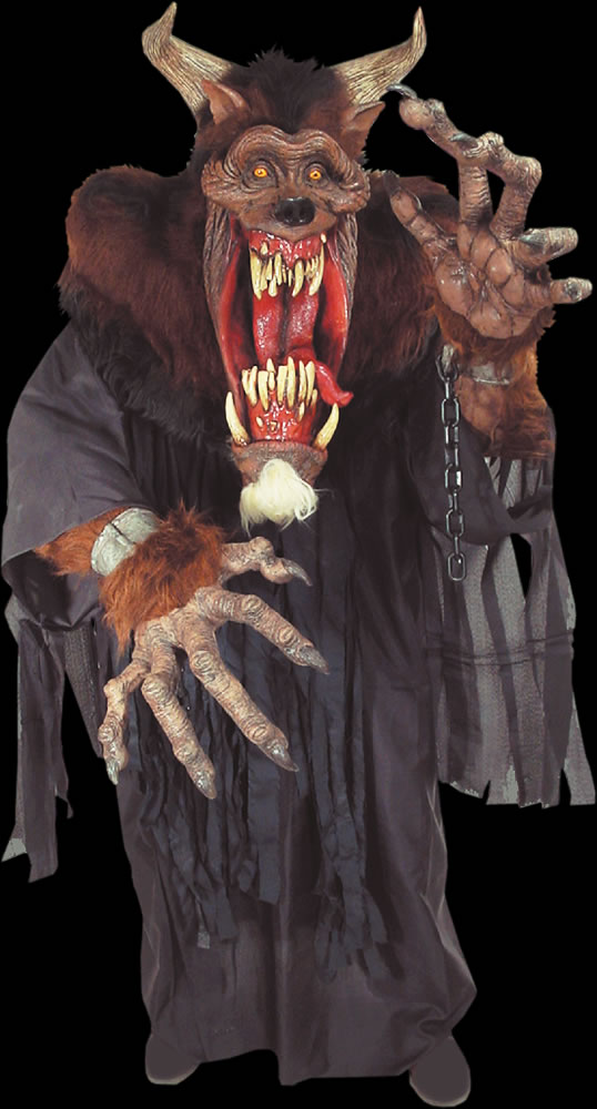 Demon Beast Creature Reacher Costume