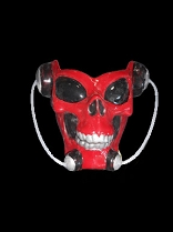 Red Skull Alien Lightup