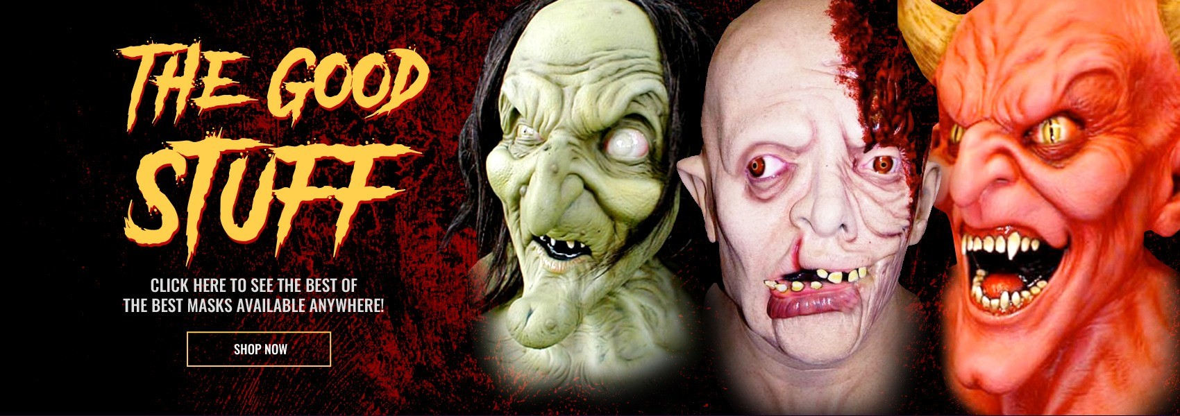 The most realistic Halloween masks