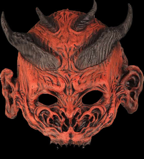 Demon Half Mask