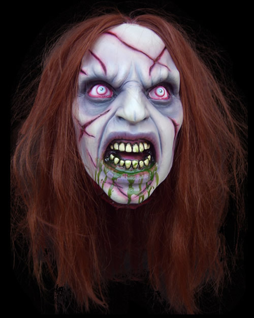 Exorcist Girl Prop Head