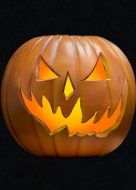 H6 Light Up Pumpkin