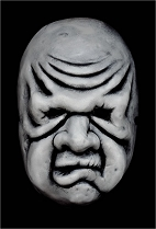 Twilight Zone Wilfred Harper Mask