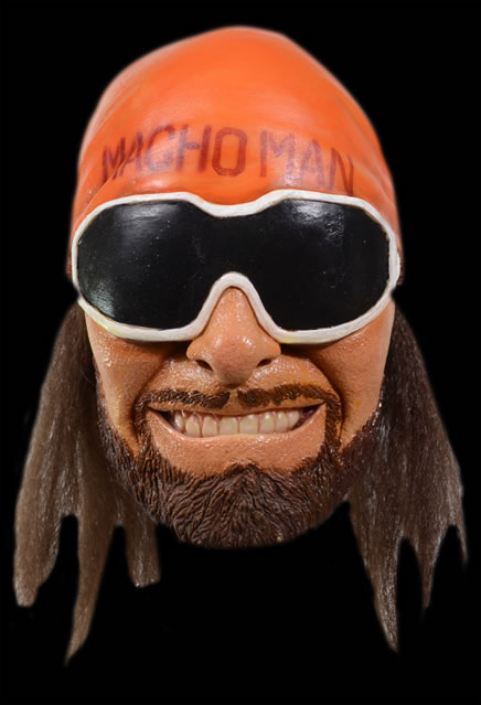 WWE The Macho Man Randy Savage Mask
