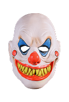 Don Post Demented Clown Mask