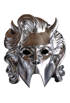 Ghost Female Chrome Ghoullette Mask