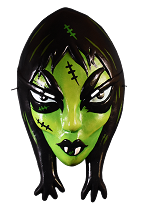 Toxictoons Ghoulena Vacuform Mask