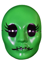 Tragedy Girls Sadie Green Mask