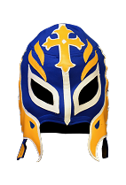 WWE Rey Mysterio Blue Mask