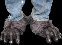 Black Werewolf Feet