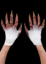 White Beast Gloves