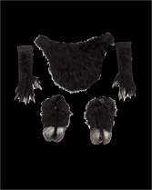Black Furry Faun Satyr Goat Bundle
