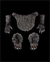 Grey Furry Beast Bundle