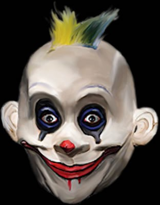 Grumpy Clown from Batman