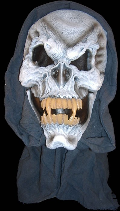Hooded Fanged Skull with Dentition