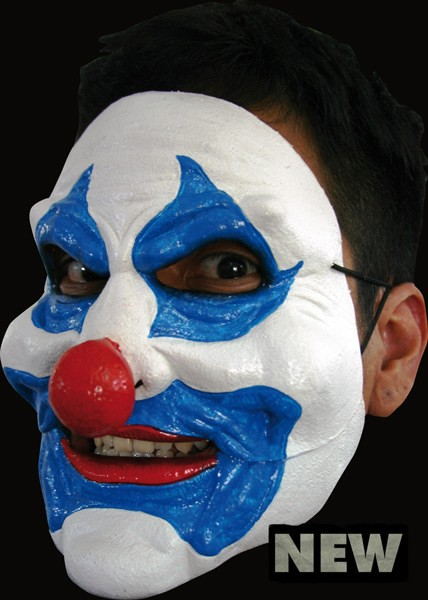 Blue Clown Moving Jaw