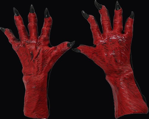 Devil Gloves Large