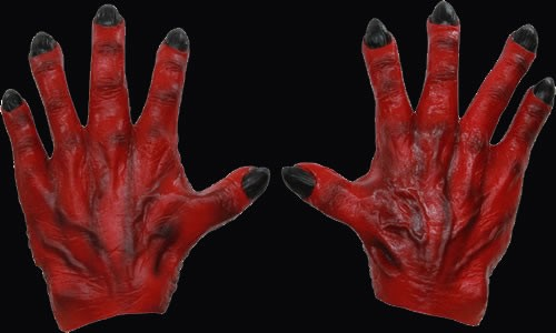 Monster Hands Red