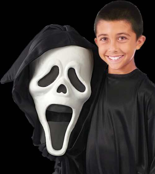 Bobblehead Ghost Costume