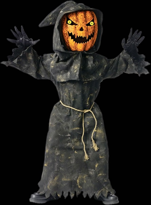 Bobblehead Pumpkin Childs Costume