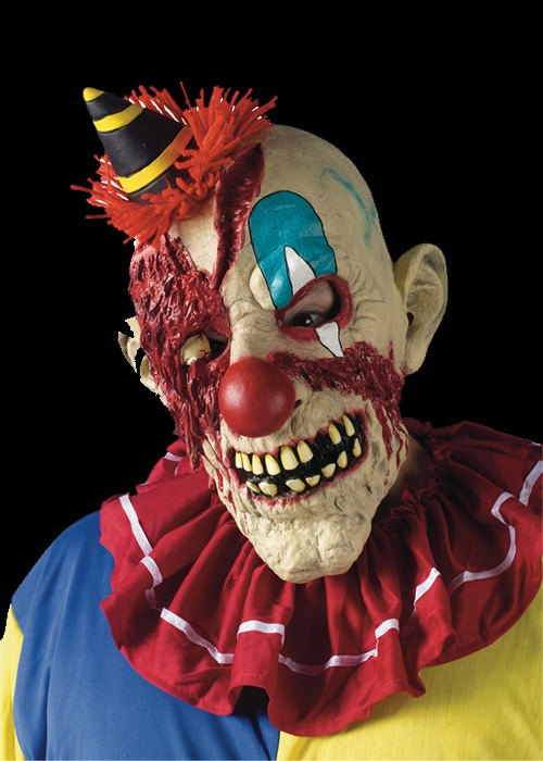 Fearsome Faces Evil Clown