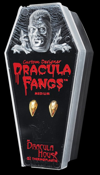 Dracula Gold Fangs